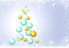 Background CHRISTMAS snow Stock Images