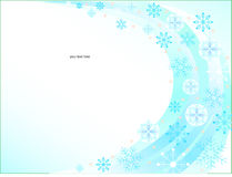 Background of christmas snowflakes Royalty Free Stock Photo