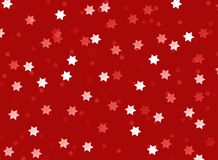 Background christmas stars red white texture abstract Royalty Free Stock Images