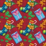 Background Christmas stocking Stock Photography