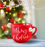 Background with Christmas tea Royalty Free Stock Photos