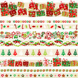Background with Christmas theme and elements Royalty Free Stock Photos