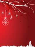 Background with Christmas toys Stock Photos