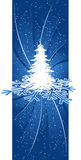 Background with Christmas tree Royalty Free Stock Images
