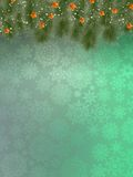 Background with christmas tree. EPS 10 Royalty Free Stock Photos