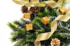 Background christmas tree Royalty Free Stock Images