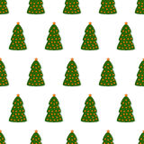 Background with Christmas tree Royalty Free Stock Photos