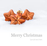 Background for Christmas in white Royalty Free Stock Photo