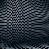 Background of circle mesh pattern Royalty Free Stock Photography