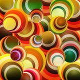 Background circle orange. Background of circles in orange Royalty Free Stock Photos