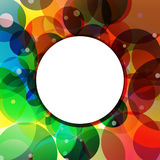 Background Circle Rainbow Jungle Stock Photo