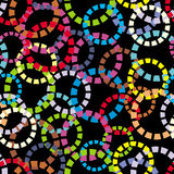 Background with circles Stock Photos
