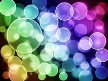 Background with circles Royalty Free Stock Images