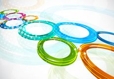 Background with circles Stock Photography