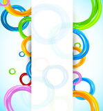 Background with circles Royalty Free Stock Image