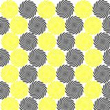 Background yellow white  black texture circles abstract wallpaper textile decorative paper. Background circles abstract texture wallpaper textile decorative stock illustration