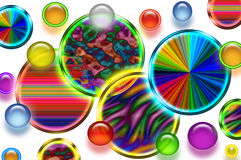 Background of circles Royalty Free Stock Photo