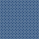 Background with circles - endlessly. Blue endless background with circles colored white Royalty Free Stock Photo