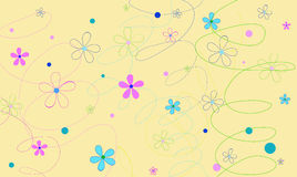 Background with circles Royalty Free Stock Photography