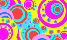 Background with circles Royalty Free Stock Photo