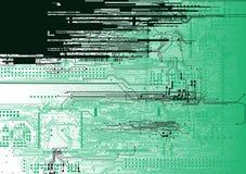 Background circuit Stock Image