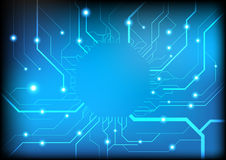 Background circuit Royalty Free Stock Images