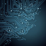 Background  circuit board Stock Images