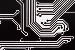 Background with circuit board Stock Photos