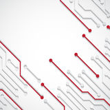 Background with circuit board texture. EPS10 vector stock illustration