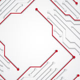 Background with circuit board texture. EPS10 vector vector illustration
