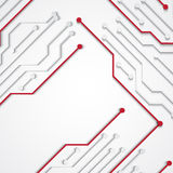 Background with circuit board texture. EPS10 vector royalty free illustration
