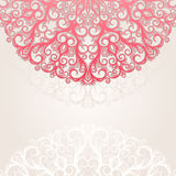 Background with circular color pattern Royalty Free Stock Photo