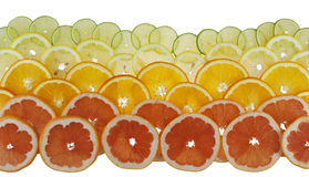 Background with citrus-fruit Royalty Free Stock Photography