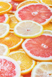Background with citrus-fruit of Fresh Stock Photos