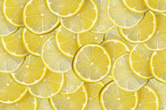 Background with citrus-fruit of lemon slices Royalty Free Stock Photos