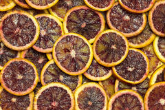 Background citrus ripe juicy slices of orange lemon Royalty Free Stock Images