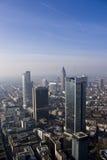 Background City of Frankfurt Stock Photo