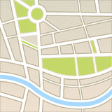 Background of city map Stock Photos