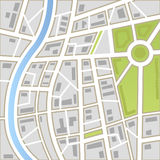 Background of city map Stock Images