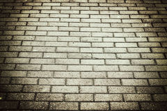 Background city toned cobbles Royalty Free Stock Image