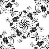 Background of classic floral pattern Stock Photos