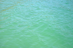 Background of clear blue sea water Royalty Free Stock Photos