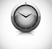 Background with clock Stock Photography