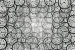Background from a clocks Royalty Free Stock Photography