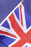 Background close up of British Union Jack flag Stock Photo