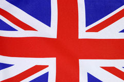 Background close up of British Union Jack flag Stock Images