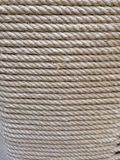 Background - close-up of layers of rope Stock Photo