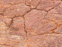 Background close-up of orange red dolomite rock Royalty Free Stock Image