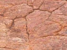 Background close-up of orange red dolomite rock Royalty Free Stock Image