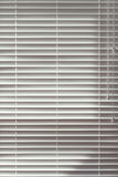 Background of closed wooden venetian blinds Royalty Free Stock Image